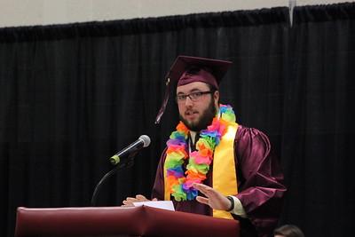 Charles Pritchard - Oneida Daily Dispatch The Canastota High School Class of 2018 celebrates their graduation on Saturday, June 23, 2018.