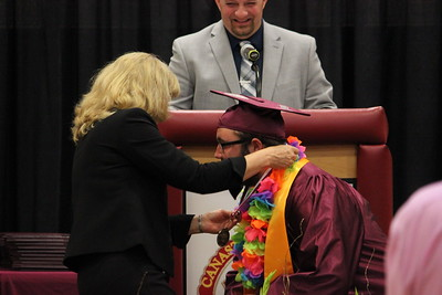 Charles Pritchard - Oneida Daily Dispatch The Canastota High School Class of 2018 celebrates their graduation on Saturday, June 23, 2018.