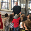 VOCATIONS—Bishop Edward Rice fielded questions on his vocation to the priesthood and his role as Bishop on Jan. 29 to the preschool and kindergarten classes at St. Mary Catholic School in Joplin during Catholic Schools Week 2018. He was also the principal celebrant at the all-school Mass held in St. Mary Church for Joplin Area Catholic School students. (<i>The Mirror</i>)