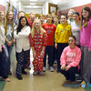 CATHOLIC SCHOOLS WEEK 2018—The 7th grade class of Guardian Angel School, Oran,  posed in their pj's on pajama day during Catholic Schools Week 2018. (<i>The Mirror</i>)
