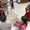 ​TEAMWORK—Students in St. Teresa Catholic School, Glennonville, worked in teams to build the highest towers of index cards in a team-building exercise during Catholic Schools Week 2018. <i>(The Mirror</i>)