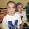 "SPIRIT DAY—Two St. Teresa Catholic School ""Mustangs"" in Glennonville got in the spirit of Spirit Day during Catholic Schools Week 2018. (<i>The Mirror</i>)"