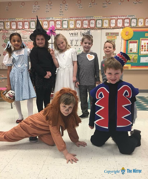 CATHOLIC SCHOOLS WEEK 2018—Faculty at Immaculate Conception School, Jackson, MO, dressed up on 'Wizard of Oz' day held on Jan. 29, 2018 during CSW 2018. (<i>The Mirror</i>)