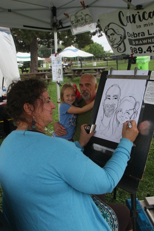 . Art and music enthusiasts flocked to Brandenburg Park for the 2018 Chesterfield Arts & Music Festival Aug. 25 and 26. (Photos by Dave Angell)