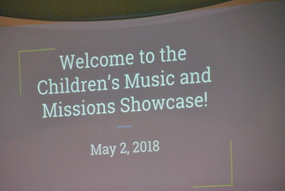 2018 Children's Choir Program