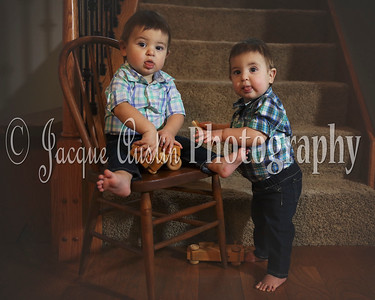 Ethan and Asher 1 year