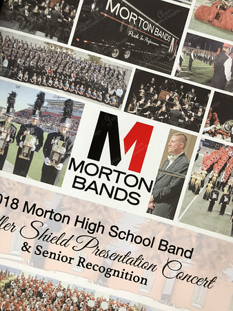MHS BAND Senior night & SUDLER Shield 2018 Concert