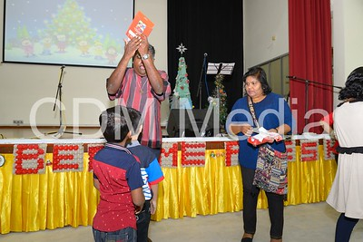 Children's Christmas party organised by PIHDM and St Hosea BEC for the under-priviledged kids.