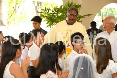 First Holy Communion for Standard 4 - Nov 2018