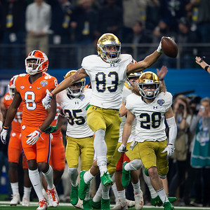 NCAA Football 2018: Notre Dame vs Clemson