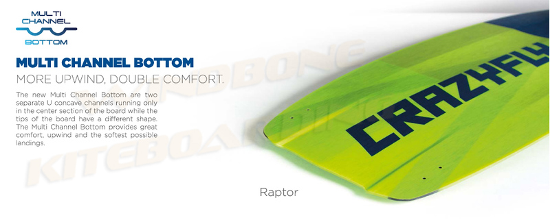 Crazyfly Raptor Multi Channel Concave Bottom Overview