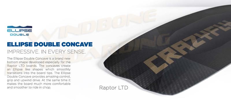 2018 Crazyfly Raptor LTD Ellipse Double Concave Layers