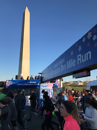 2018 Credit Union Cherry Blossom 10 Mile Race - Photos by Bob Burgess
