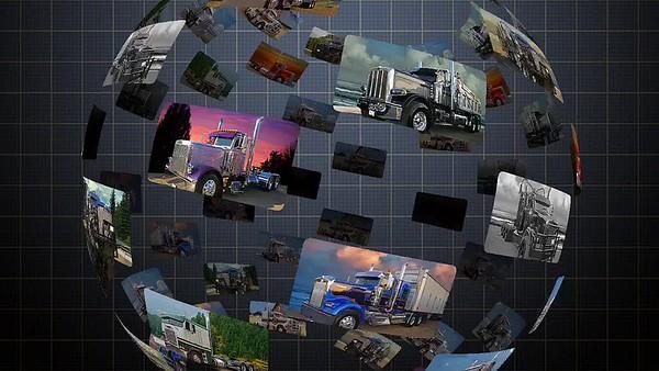 ZZ Chrome's Big Rig Truck Show Video
