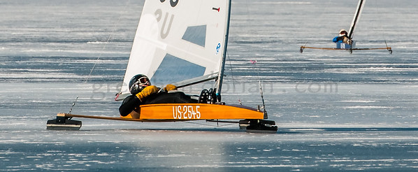 2018 DN NAs Iceboat Championships Lake Charlevoix