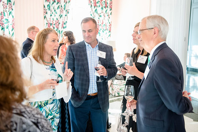 Discover the Real WV Foundation hosts a special reception with John Langford, Chairman and CEO of Aurora Flight Sciences at the West Virginia Chamber Annual Meeting and Business Summit at the Greenbrier Resort in White Sulphur Springs, WV.  August 29, 2018.  (J. Alex Wilson)