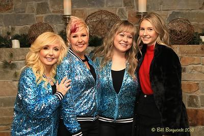 Melanie, Krysta, Stacie & Shelby - Blush Xmas 2018 333