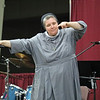 CO-KEYNOTE—Sr. M. Karolyn Nunes, FSGM, was one of the keynote speakers at DYC at the 25th annual Diocesan Youth Conference (DYC) held in West Plains March 23-25. (Photo by Margie Black/<i>The Mirror</i>)