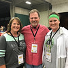 25TH DYC—Margie Black, Fr. J. Friedel, and Mary Black, all from Joplin, enjoyed the 25th Annual Diocesan Youth Conference held March 23-25 in West Plains. (Submitted photo)