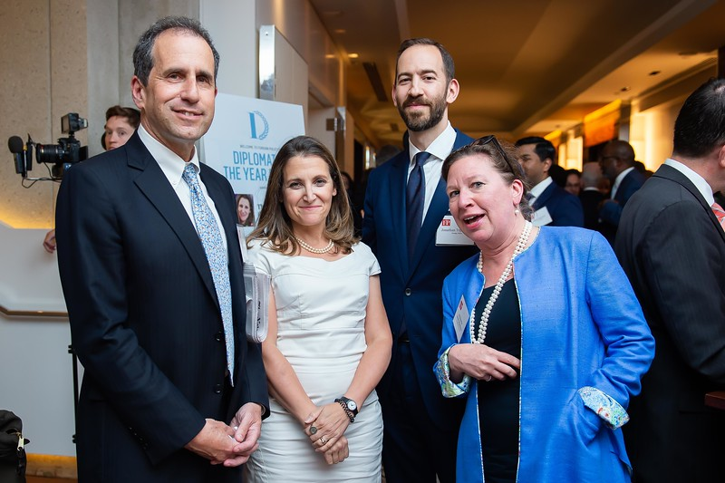 Foreign Policy's Diplomat of the Year Awards 2018