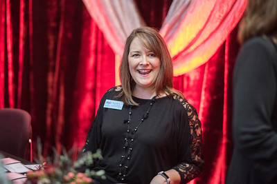 Tami Adams attends the Distinguished Alumni dinner on Friday, March 9, 2018 in Chico, Calif.  (Jason Halley/University Photographer/CSU Chico)