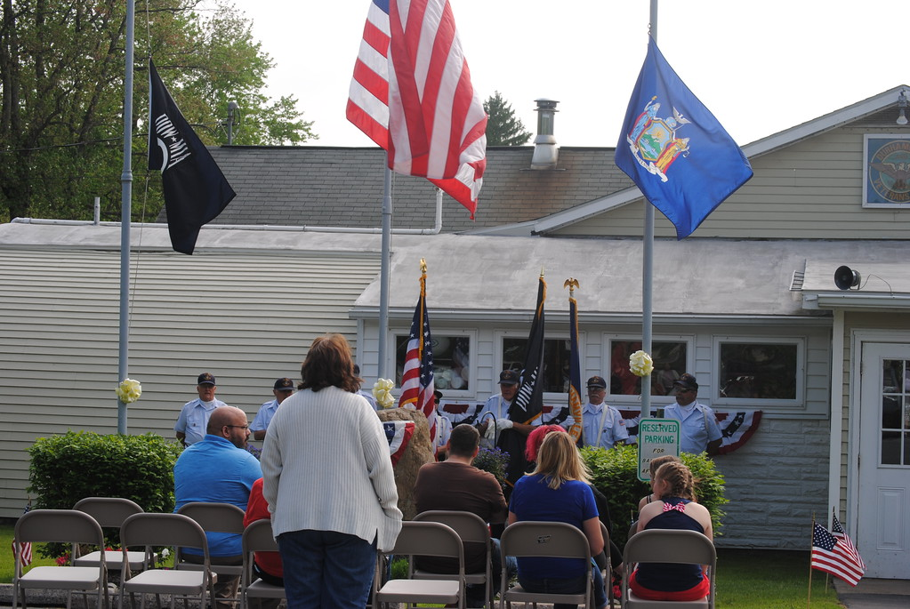 . Leah McDonald - Oneida Daily Dispatch The village of Durhamville holds its annual Memorial Day ceremony on Monday, May 28, 2018.
