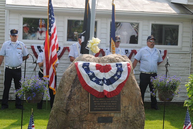 Leah McDonald - Oneida Daily Dispatch The village of Durhamville holds its annual Memorial Day ceremony on Monday, May 28, 2018.