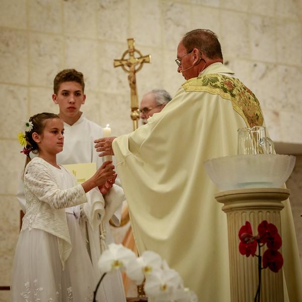 2018 Easter Vigil at St Brendan