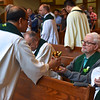 Fr. Paul was able to join the assembly at Mass