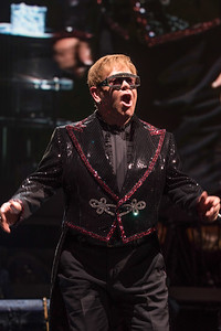 WASHINGTON, DC - SEPTEMBER 22: The Farewell Tour featuring Elton John at Capitol One Arena on Saturday, September 22, 2018, in Washington, DC, USA. (Photo by: Mike Ware / RedCarpetImages.net)
