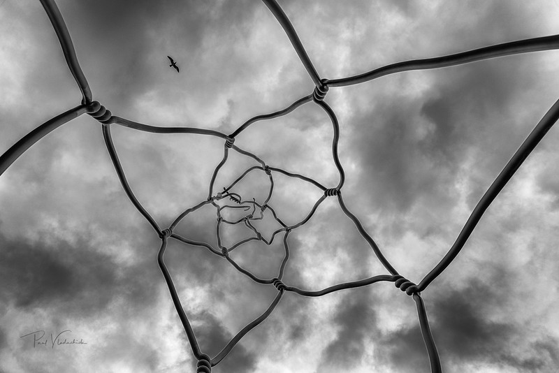 Wire into the Sky - Barcelona Spain
