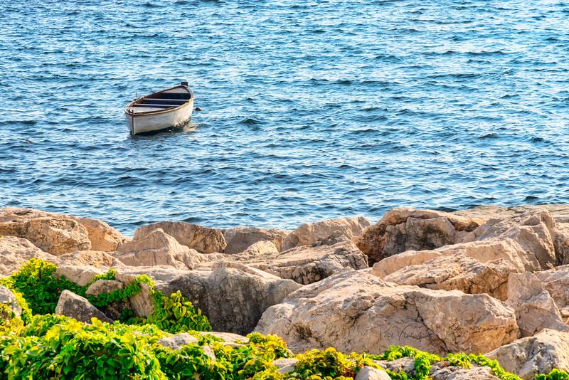 Fishing Boat near Naples Italy