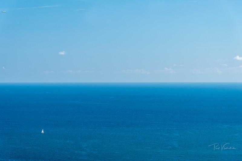 Endless Blue Sea - Barcelona Spain