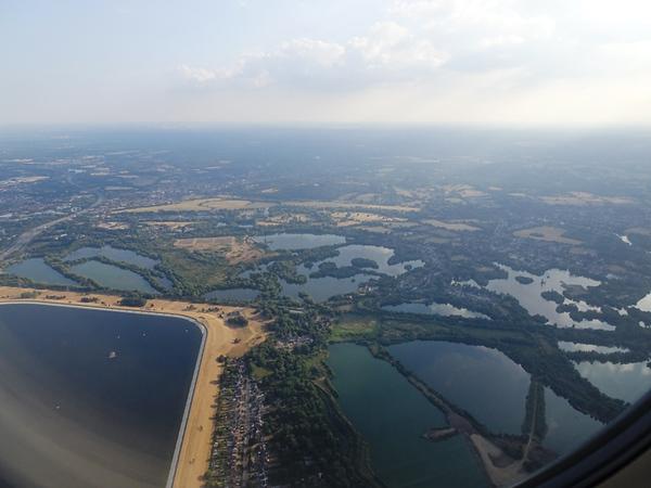 Landing in the Netherlands near Amsterdam