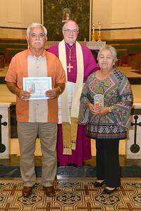 Pancho & Manuela Barrera Sacred heart Mathis