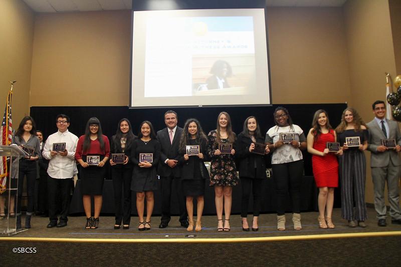 201801 Mock Trial Awards - San Bernardino County