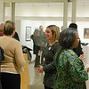 The closing reception of the Buffalo State Alumni Artists show.