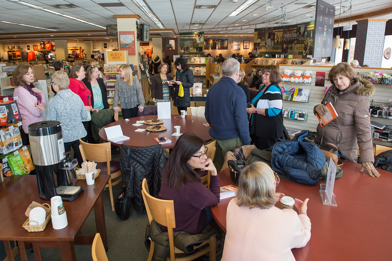 """Doing PDS"" book signing at Barnes and Nobles Bookstore at Buffalo State College."