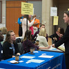 Higher Education and Student Affairs Administration (HESSA) fair at Buffalo State College.