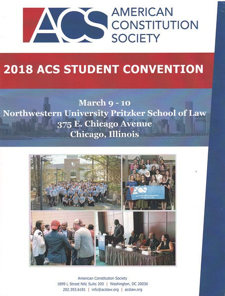2018 American Constitution Society Student Convention, March 9, 2018