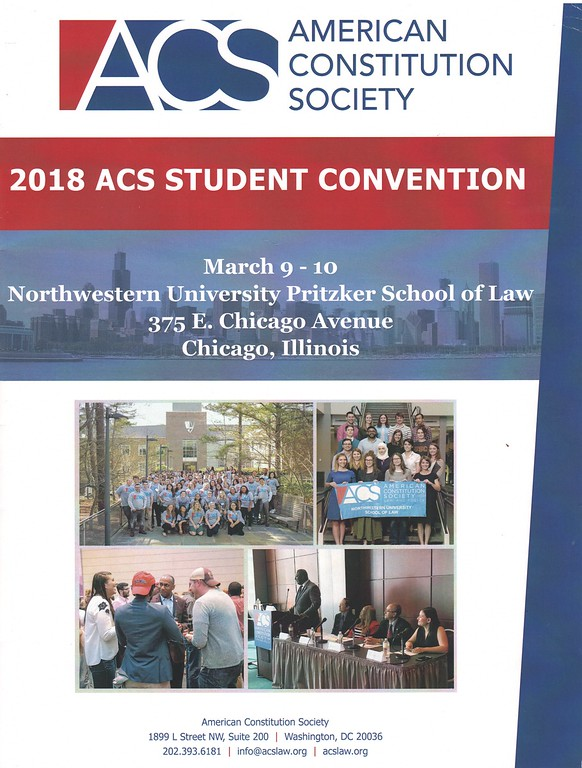 American Constitution Society 2018 Student Convention