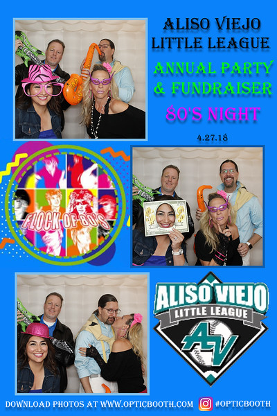 Aliso Viejo Little League Fundraiser 2018