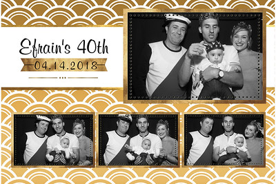Efrain's 40th Birthday Party