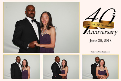Dr. R.A. Williams 40th Anniversary-6/30/18