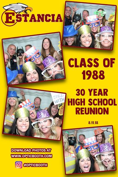 Estancia's 30 Year High School Reunion 2018