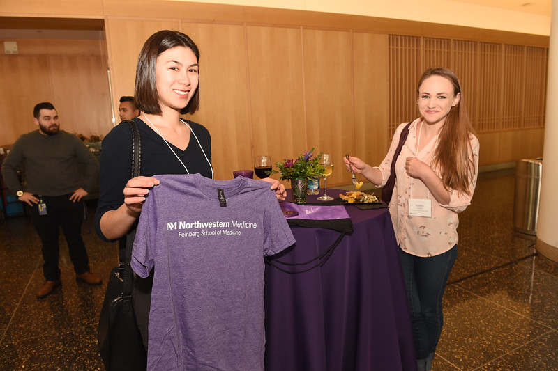 Northwestern University, Feinberg School of Medicine, Second Look Reception, April 19, 2018
