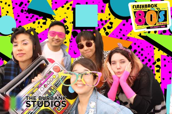 Flashback 80s Party at The Burbank Studios