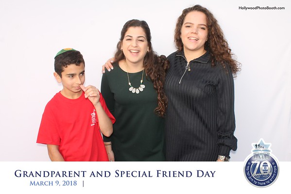 Grandparent and special Friend Day - March 9, 2018