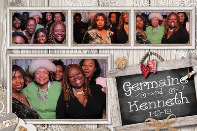 Germaine and Kenneth's Wedding 1-15-18