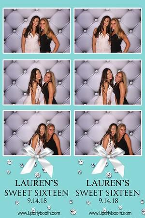 Lauren's Sweet 16